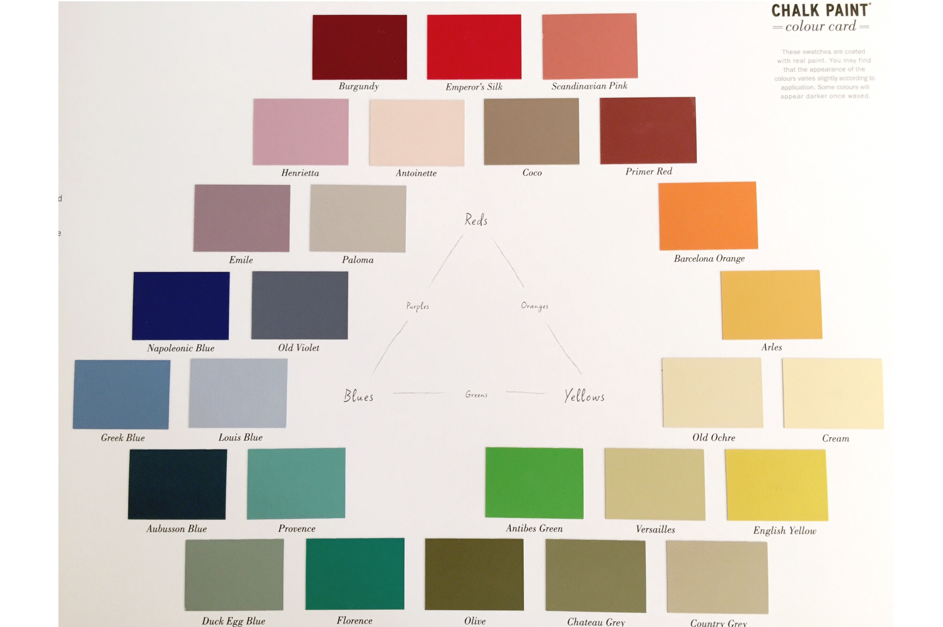 Colors of annie sloan chalk paint - Annie Sloan Chalk Paints Themselves Are A Dream To Use A Beautiful Existing Palette Can Also Be Easily Mixed To Create Your Perfect Colour